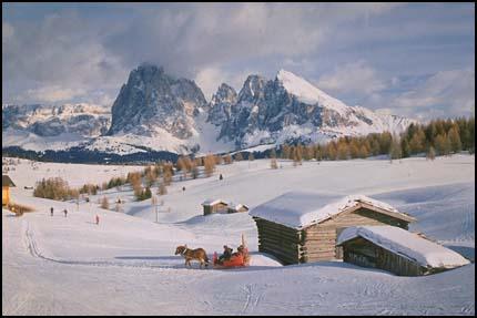 Cabin in Alps
